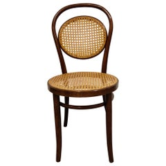 Antique Bentwood Dining Chair or Bistro Chair, 1950s