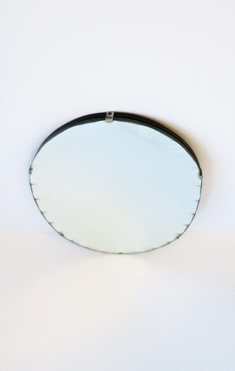 Antique Modern Beveled Wall or Vanity Mirror For Sale 2