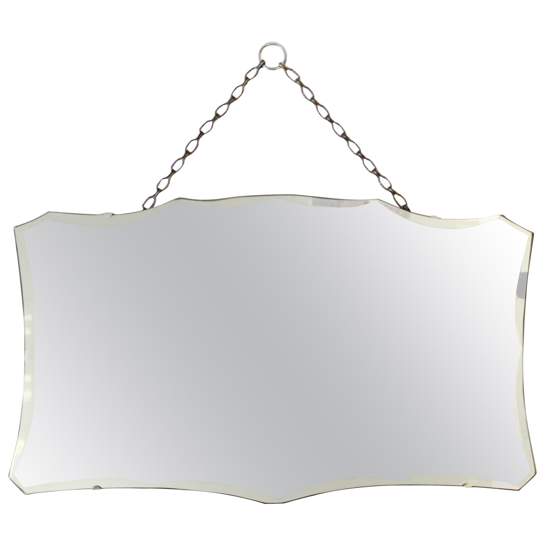 Antique Beveled Wall or Vanity Mirror