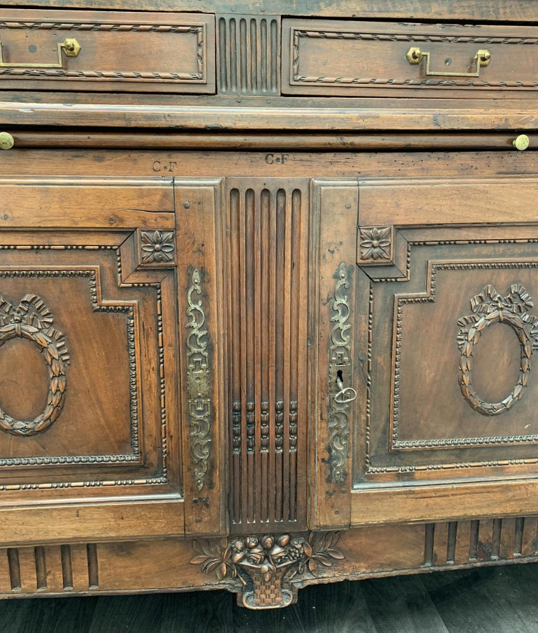 Antique Bibliotheque by F. C. Menant, Louis XVI Style 18th Century, French For Sale 8