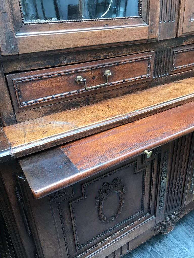 Antique Bibliotheque by F. C. Menant, Louis XVI Style 18th Century, French For Sale 14