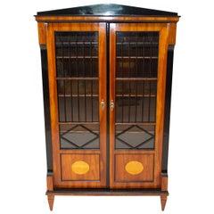 Antique Biedermeier Bookcase, 1830s