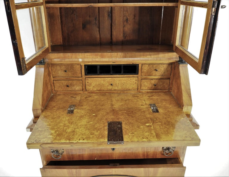 Antique Biedermeier Cupboard For Sale 9