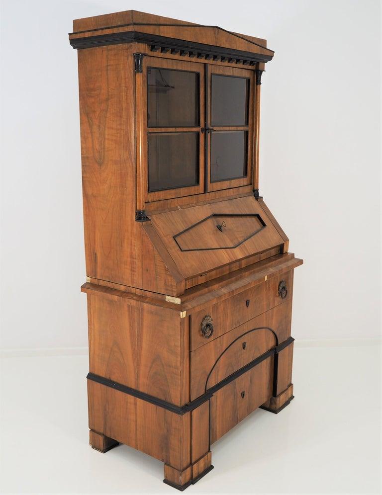 Antique Biedermeier cupboard.