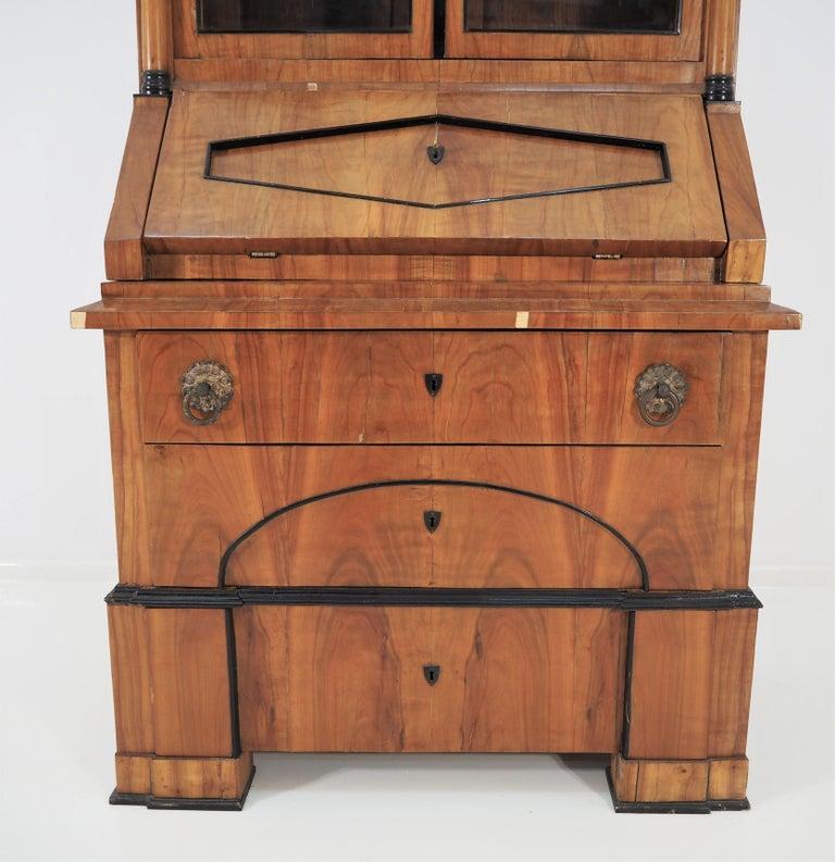 Antique Biedermeier Cupboard In Fair Condition For Sale In Bielsko Biala, slaskie