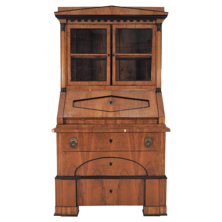 Antique Biedermeier Cupboard For Sale