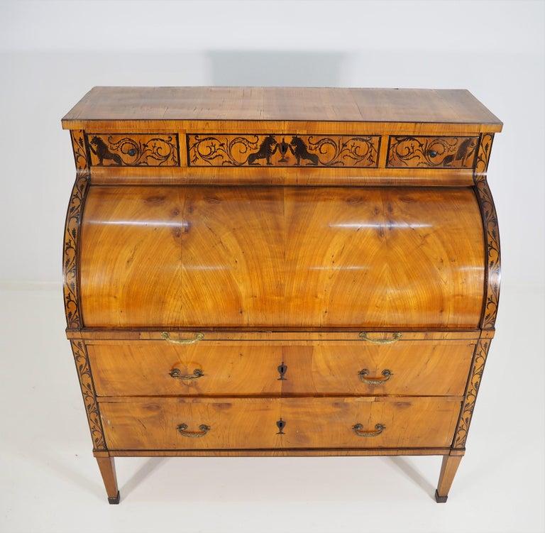 Antique Biedermeier Secretaire For Sale 2