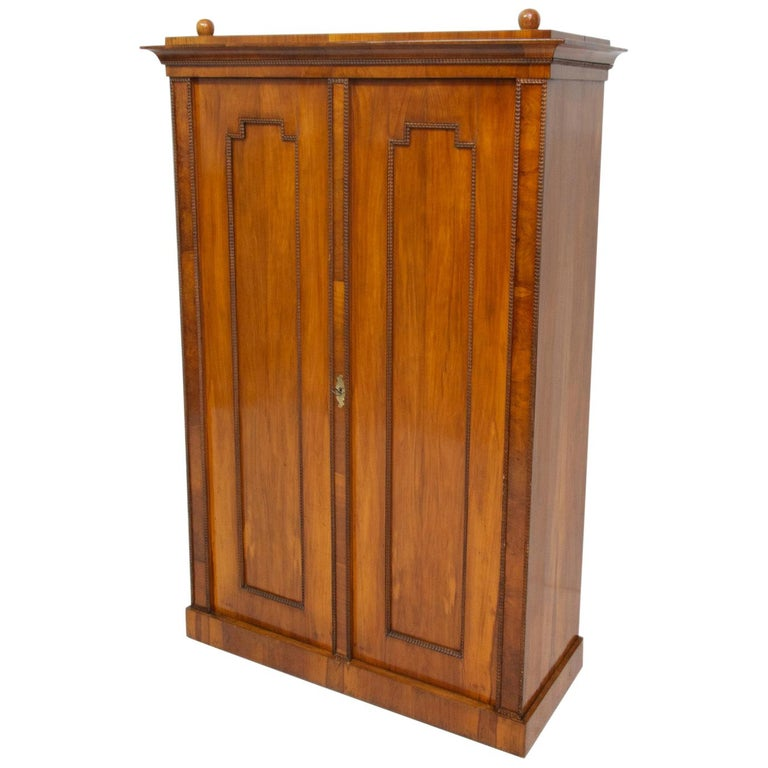 Antique Biedermeier Shelf Cabinet-Wardrobe, 1830s, Austria-Hungary For Sale