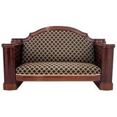 Antique Biedermeier Sofa from circa 1870, Renovated