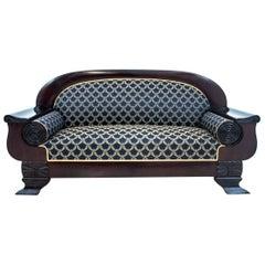 Antique Biedermeier Sofa from circa 1900, Renovated