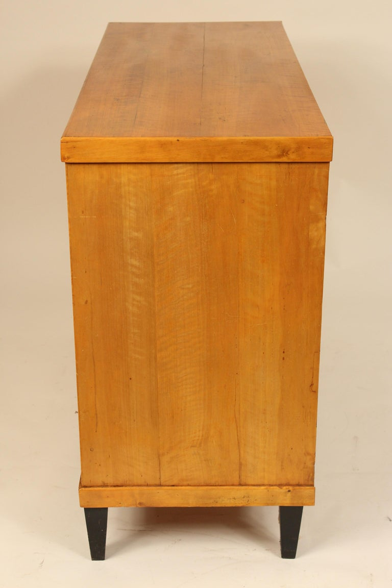 19th Century Antique Biedermeier Style Chest of Drawers For Sale