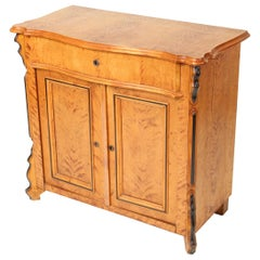Antique Biedermeier Style Occasional Cabinet