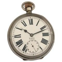 Antique Big / Golliath 8 Days Swiss Made Pocket Watch