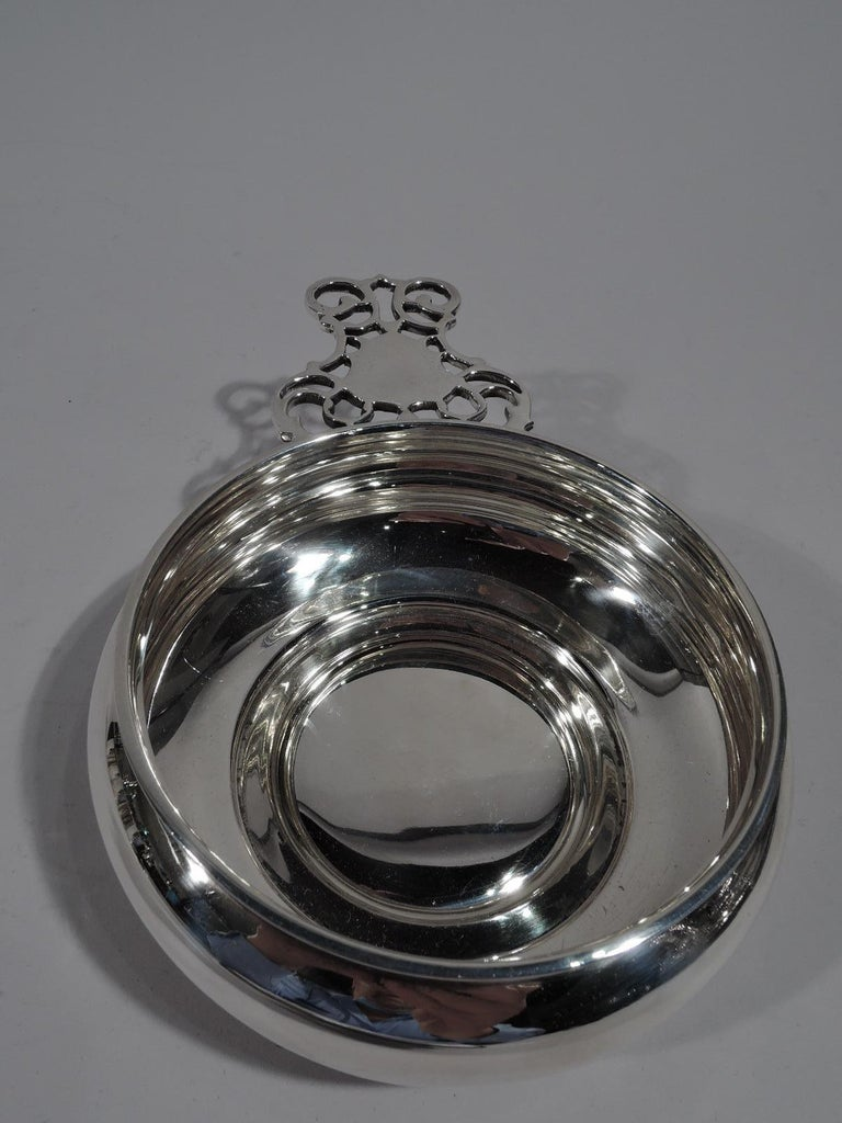 Colonial Revival Antique Bigelow, Kennard Sterling Silver Porringer For Sale