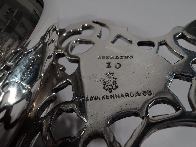 North American Antique Bigelow, Kennard Sterling Silver Porringer For Sale