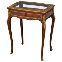 Antique Bijouterie Table in Mahogany
