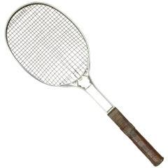 Antique Birmal All Metal Lawn Tennis Racket