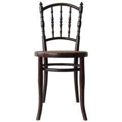 Antique Bistro Chair by Jozef Kohn, 1930s
