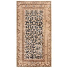Antique Blue Pomegranate Khotan Rug