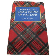 Antique Book by Robert Bain's Titled Clans and Tartans of Scotland