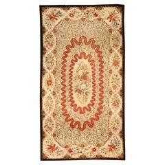 Antique Botanic Needlepoint Carpet