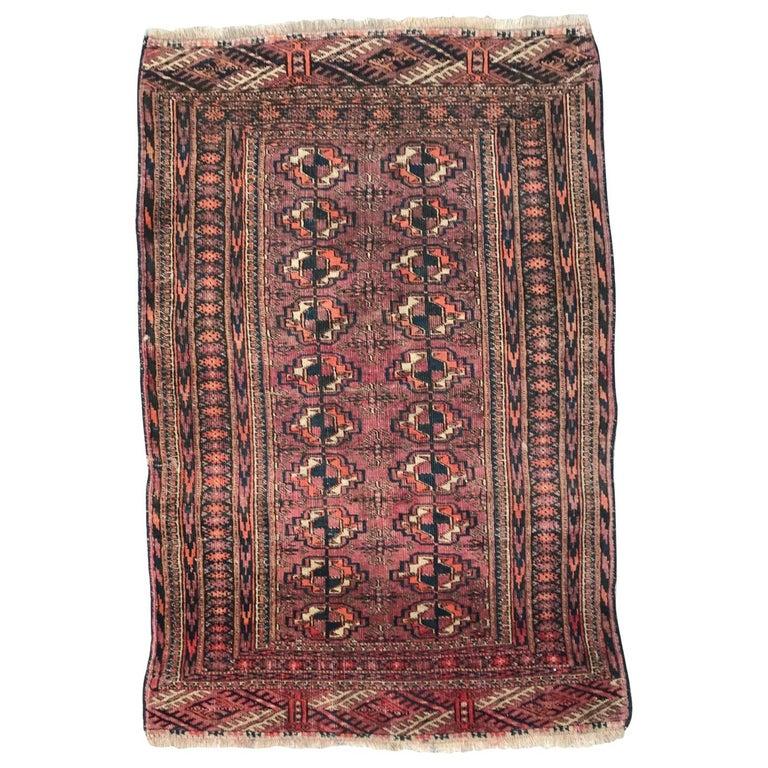 Antique Afghan Rugs: Antique Boukhara Afghan Rug For Sale At 1stdibs
