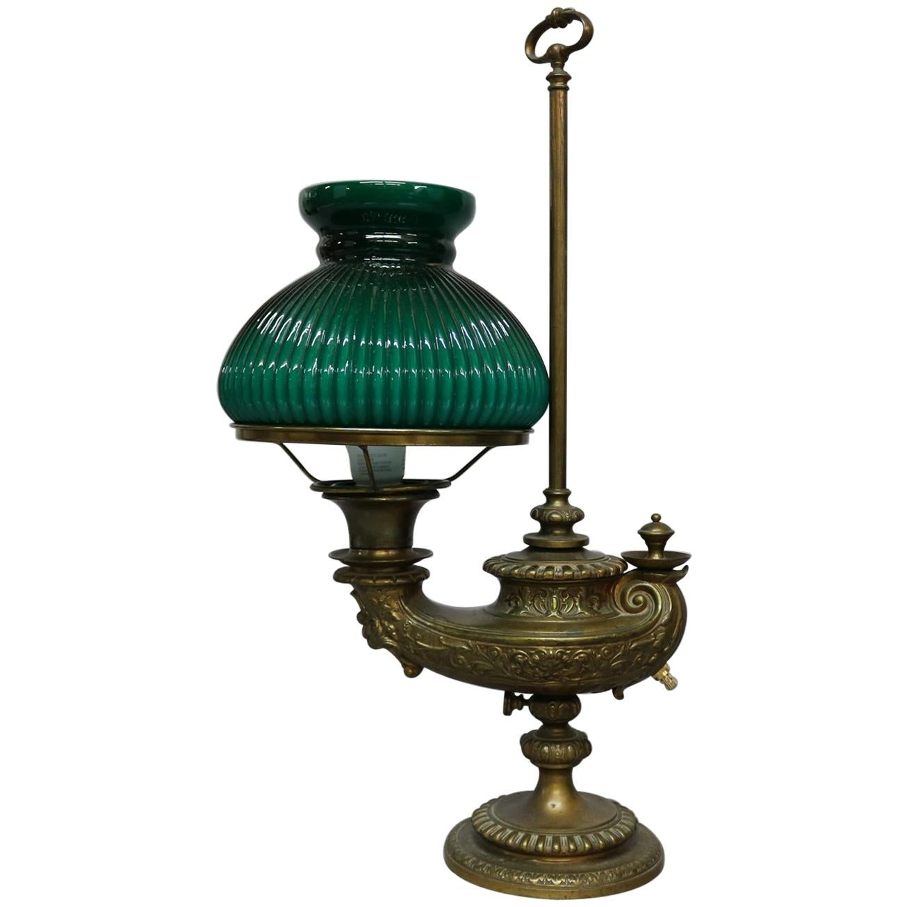 6b41aff0625e Glass Oil Lamps - 226 For Sale on 1stdibs