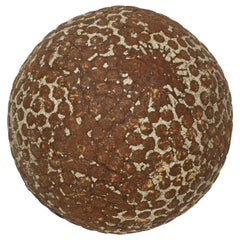 Antique Bramble Pattern Golf Ball with Wound Rubber Core