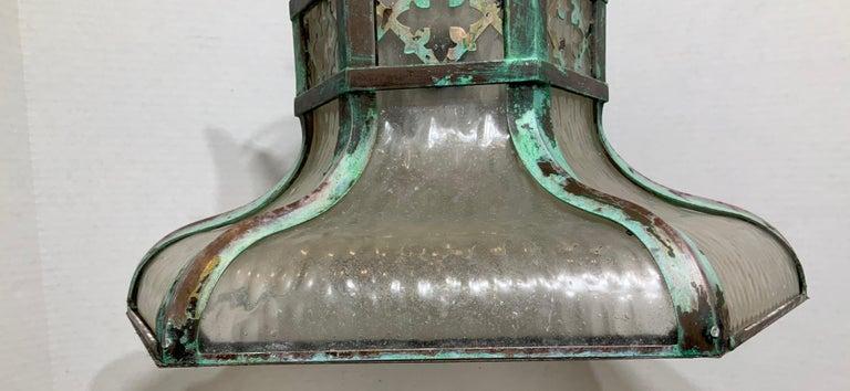 Antique Brass Chandelier For Sale 9