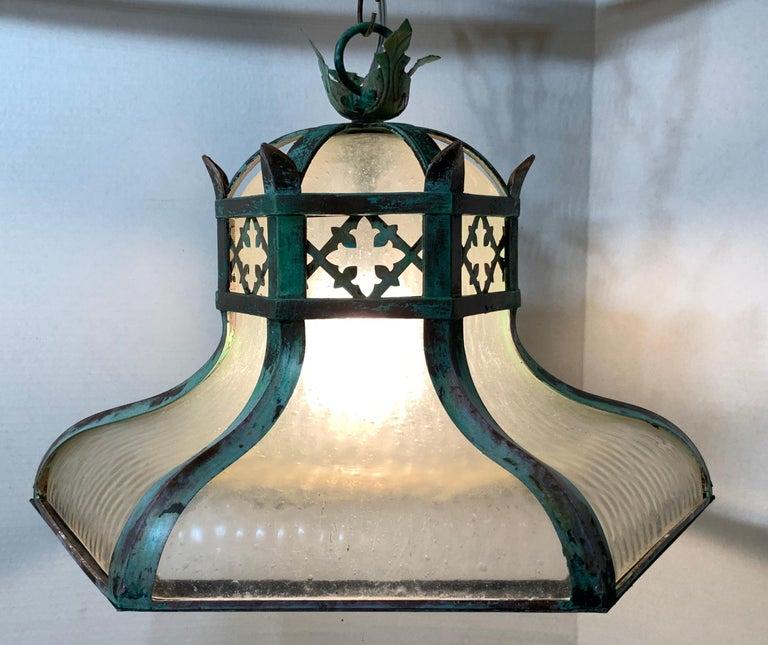 Antique Brass Chandelier For Sale 2