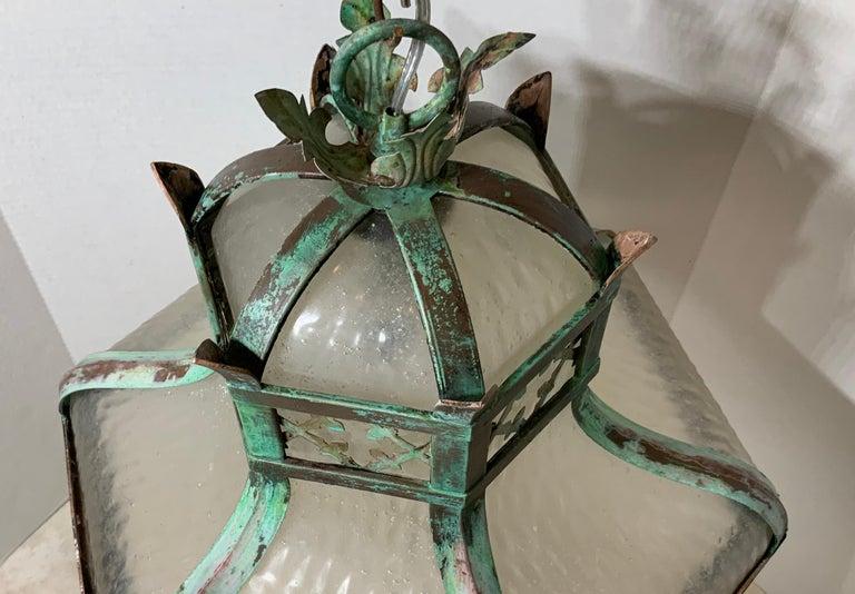 Antique Brass Chandelier For Sale 3