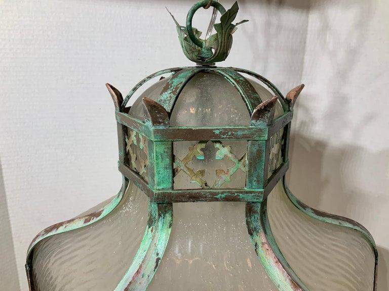 Antique Brass Chandelier For Sale 4