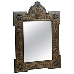 Embossed metallic mirror Out Door/ In Door