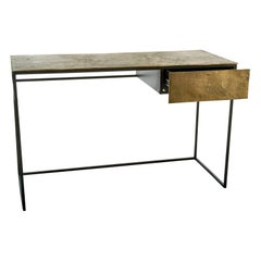 Antique Brass-Plated Desk, Pols Potten Studio