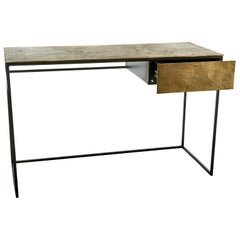 Antique Brass-Plated Desk, Pols Potten Studio