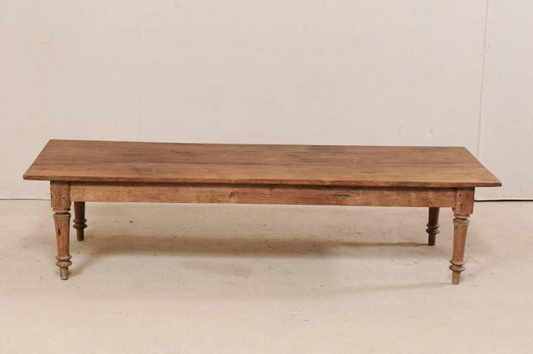 Antique Brazilian Wood Table or Bench from the Early 20th Century For Sale 5