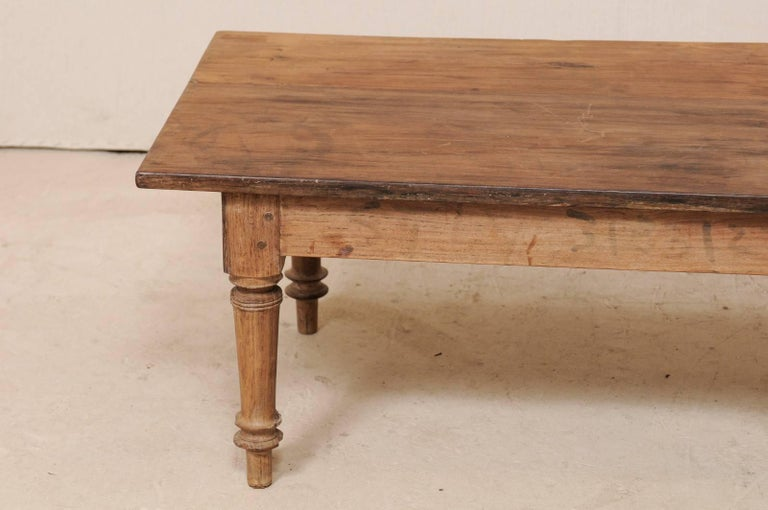 Hardwood Antique Brazilian Wood Table or Bench from the Early 20th Century For Sale