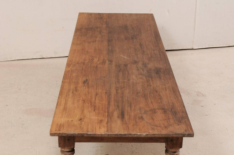 Antique Brazilian Wood Table or Bench from the Early 20th Century For Sale 1