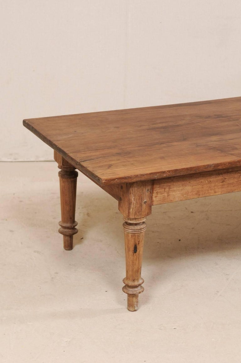 Antique Brazilian Wood Table or Bench from the Early 20th Century For Sale 3