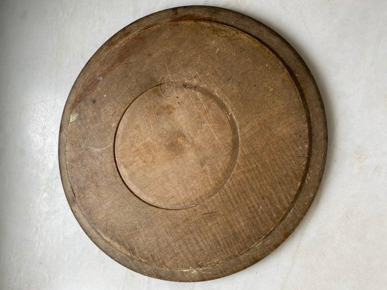 English Antique Breadboard For Sale