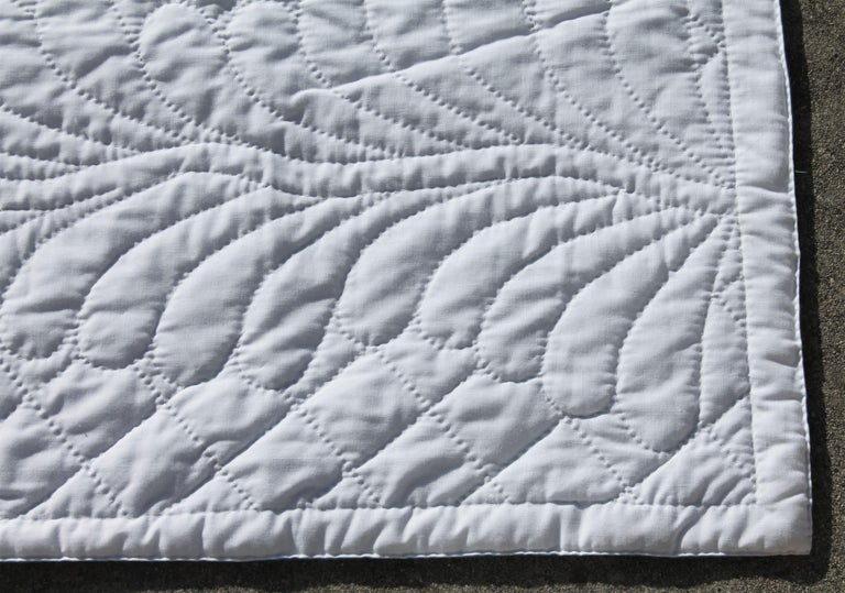 Antique Bridal Quilt from Pennsylvania For Sale 4