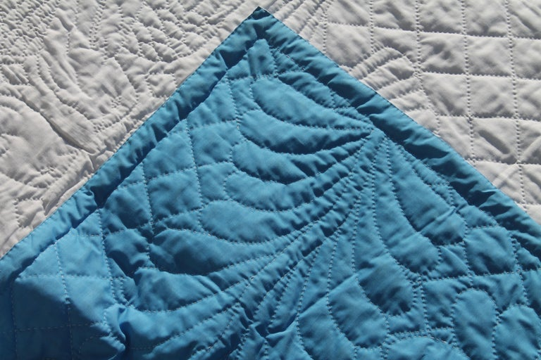 Antique Bridal Quilt from Pennsylvania In Good Condition For Sale In Los Angeles, CA
