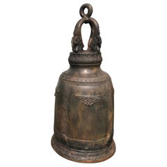 Antique Bronze Bell with Pleasing Sound