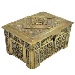 Antique Bronze Box from Belgium