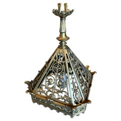Antique Bronze Church Lantern