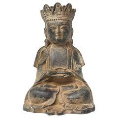 Antique Bronze Earth Buddha