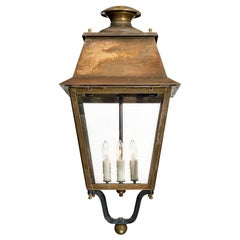 Antique Bronze French Lantern