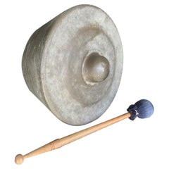 Antique Bronze Gong with Soothing Sound