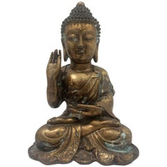 Antique Bronze Hindu Buddha