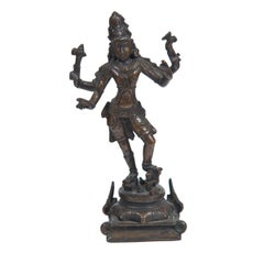 Antique Bronze Indian Figure of Shiva